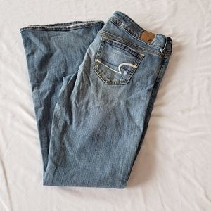 American Eagle Stretch Sz 8 Artist Jeans